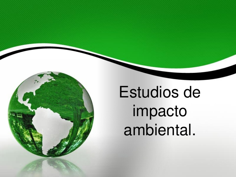 Estudio de Impacto Ambiental - AMB-002