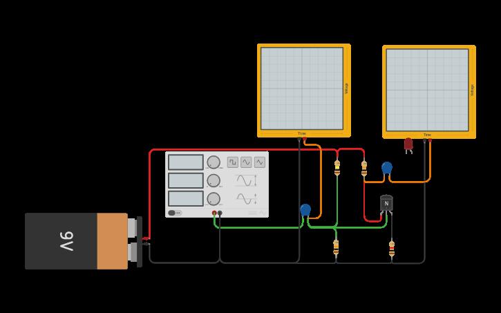 Amplificador Bjt En Corriente Alterna - ELC-011